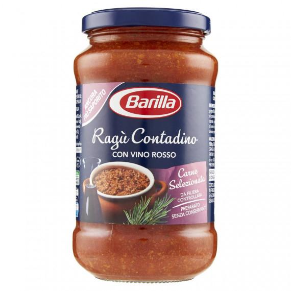 BARILLA RAGU CONTADINO CON VINO ROSSO GR.400