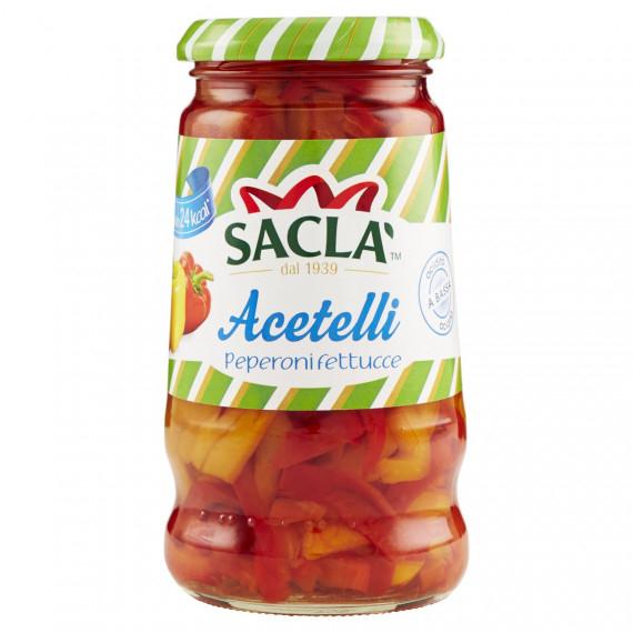 SACLA ACETELLI PEPERONI FETTUCCE GR.290