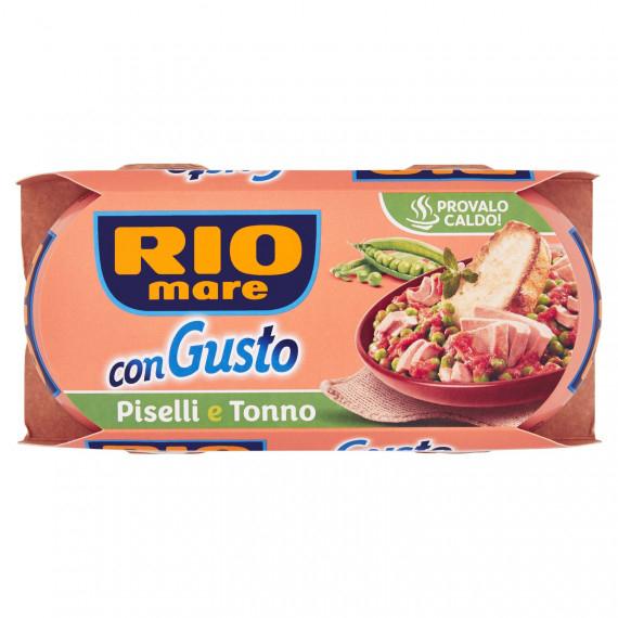 RIO MARE CON GUSTO PISELLI E TONNO 2X160 GR.
