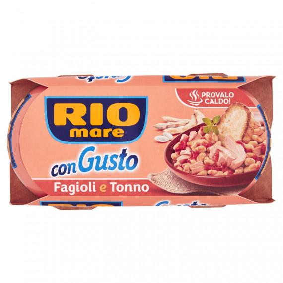 RIO MARE CON GUSTO FAGIOLI E TONNO 2X160 GR.