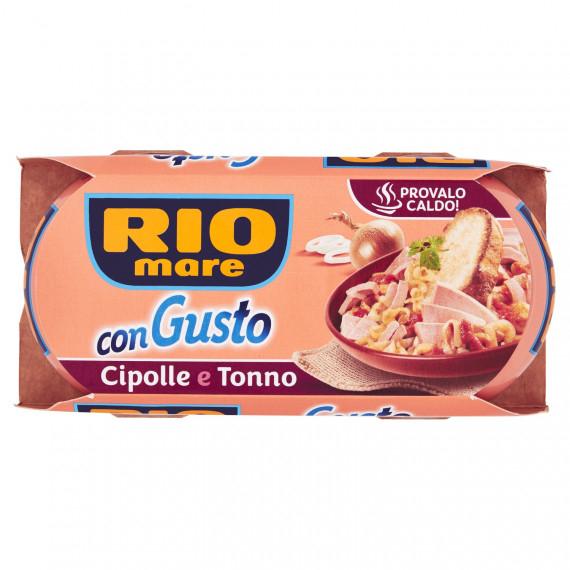 RIO MARE CON GUSTO CIPOLLE E TONNO 2X160 GR.