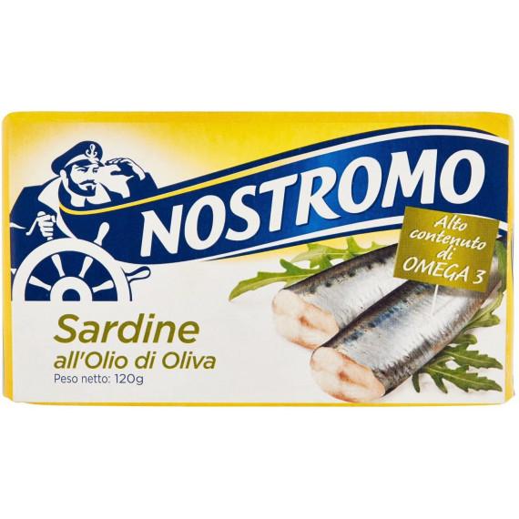 NOSTROMO SARDINE ALL'OLIO DI OLIVA GR.120