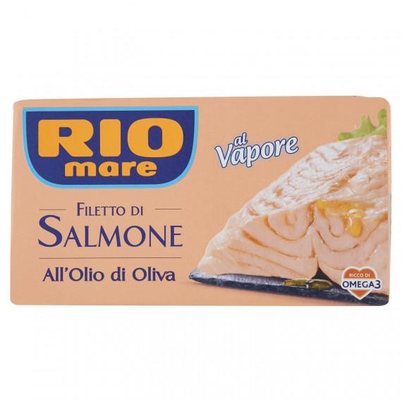 RIO MARE FILETTO DI SALMONE ALL'OLIO DI OLIVA AL VAPORE GR.125