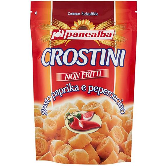 PANEALBA CROSTINI PAPRIKA E PEPERONCINO GR.100