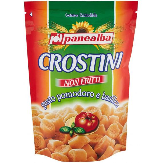 PANEALBA CROSTINI POMODORO E BASILICO GR.100