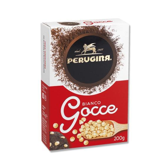GOCCE DI CIOCCOLATO BIANCO GR.200 PERUGINA