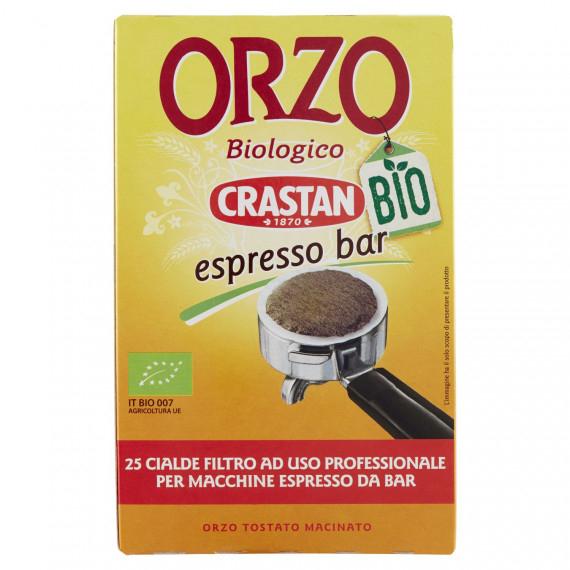CRASTAN ORZO BIOLOGICO CIALDE ESPRESSO BAR PEZZI 25