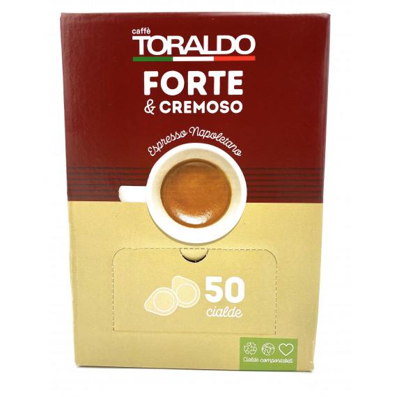 TORALDO CAFFE IN CIALDE FORTE E CREMOSO PEZZI 50