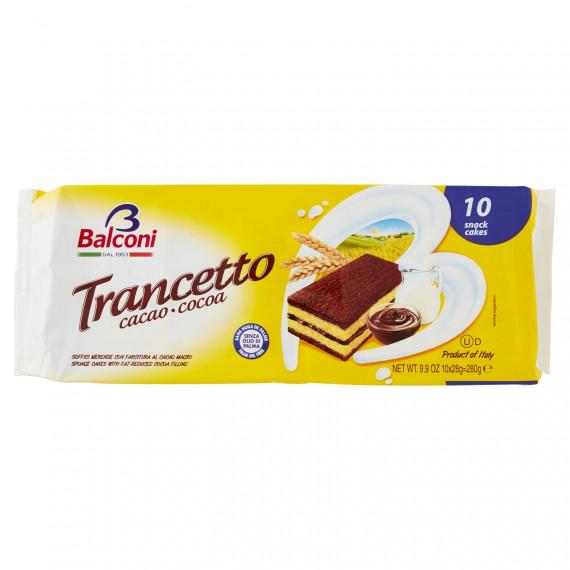 BALCONI TRANCETTO CACAO PEZZI 10 GR.280