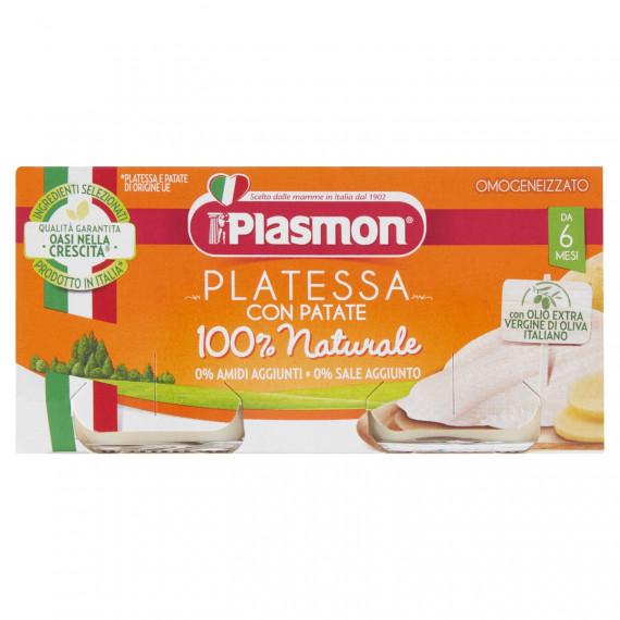 PLASMON OMOGENEIZZATO PLATESSA CON PATATE 2X80 GR.
