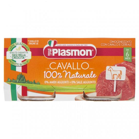 PLASMON OMOGENEIZZATO CAVALLO E CEREALE 2X80 GR.