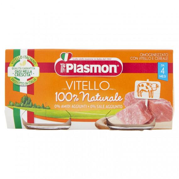 PLASMON OMOGENEIZZATO VITELLO E CEREALE 2X80 GR.