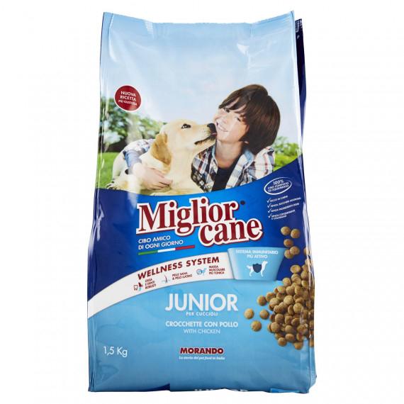 MIGLIOR CANE JUNIOR POLLO GR. 1500