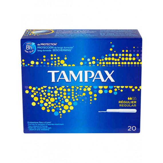 TAMPAX ASSORBENTI INTERNI BLUE BOX REGULAR 20 PEZZI