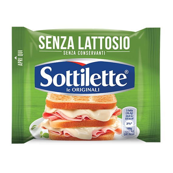 SOTTILETTE SENZA LATTOSIO GR.185