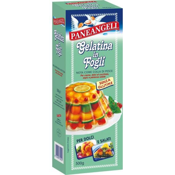 PANEANGELI GELATINA FOGLI GR.500